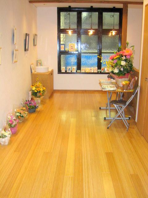 2階のギャラリーの展示風景