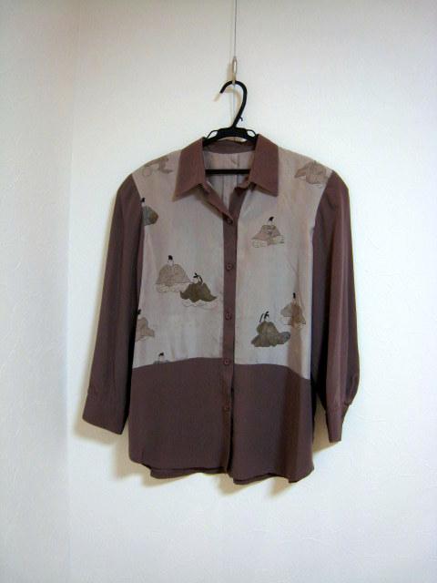 20120720 佐々木潤子さん着物のリメイク作品展9
