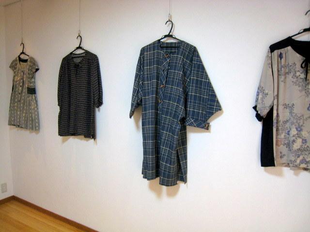 20120720 佐々木潤子さん着物のリメイク作品展7