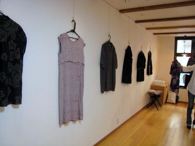 20120720 佐々木潤子さん着物のリメイク作品展6