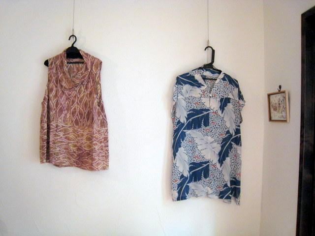 20120720 佐々木潤子さん着物のリメイク作品展1