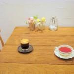 せしゅーどかやのカフェのメニューのコーヒーと紅茶